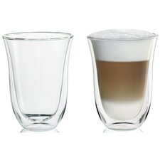 <strong>DeLonghi</strong> Latte Glasses (Set of 2)