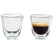 <strong>DeLonghi</strong> Espresso Glasses (Set of 2)
