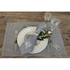 Lux Placemat and Napkins (Set of 4)