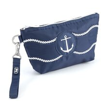 Nautical Harbor Wristlet