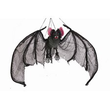 Wing Span Hanging Bat Decor Halloween Decoration