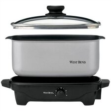5-Quart Oblong Slow Cooker