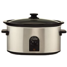 4-Quart Oval Crockery Cooker