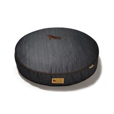 Signature Urban Denim Round Dog Pillow
