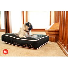 "Cosmopolitan ""SF""yline Rectangular Dog Pillow"