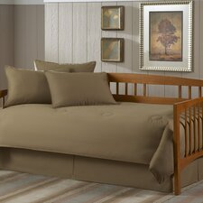 <strong>Southern Textiles</strong> Paramount 5 Piece Twin Daybed Set in Solid Khaki