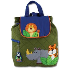 Boy Zoo Quilted Backpack