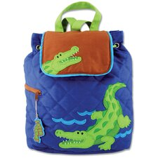 <strong>Stephen Joseph</strong> Alligator Quilted Backpack