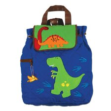 Dinosaur Quilted Backpack