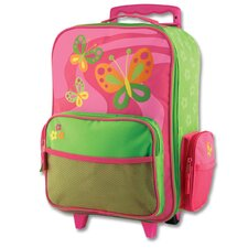 <strong>Stephen Joseph</strong> Butterfly Rolling Luggage