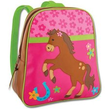 <strong>Stephen Joseph</strong> Girl Horse Go-Go School Backpack