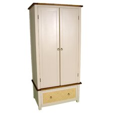 Havana Wardrobe with 2 Door and 1 Drawer