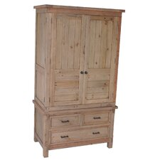 Naples 3 Drawer 2 Door Wardrobe