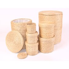 Round Rush Basket 7 Piece Set