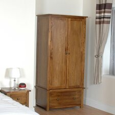 Ascot Wardrobe with 2 Door and 1 Drawer