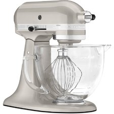 Artisan Design Series Stand Mixer with Glass Bowl and Flex Edge Beater