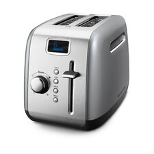 2 Slice Toaster with LCD Display