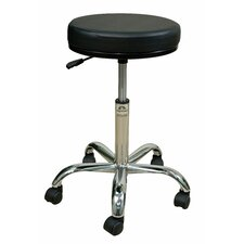 <strong>Oakworks</strong> Professional Stool with Round Swivel Seat