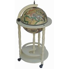 Classic 16th Century Italian Floor Globe Bar