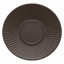 "Flamestone Brown 6.5"" Saucer (Set of 4)"