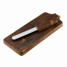 Belongings Bread Board with Knife