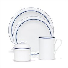 Bistro Christianshavn Blue 4 Piece Place Setting