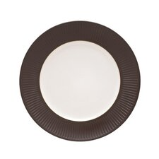 "Flamestone Brown 13"" Round Platter"