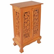 """Acacia 19"""" Bamboo Forest Storage Cabinet"""