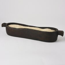 Antique Rice Trough Bowl