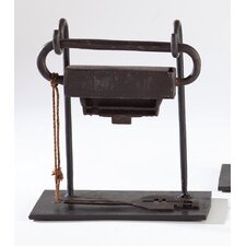 Kasi Antique Lock on Stand Figurine