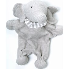 Nature's Nursery Elephant Toy in Brown