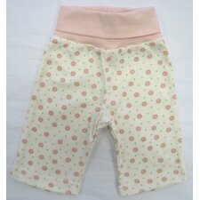 Twenty-Four Seven Rolled Waist Pant in Pink Dots