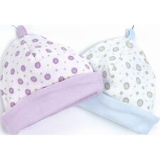 Twenty-Four Seven Reversible Hat in Pink Dots