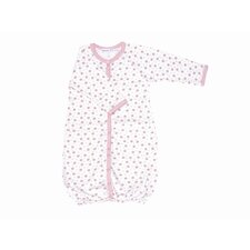 <strong>Under the Nile</strong> Twenty-Four Seven Convertible Baggie Baby Clothing in Pink Dots