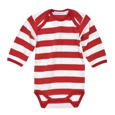 <strong>Under the Nile</strong> Rugby Long Sleeve Baby Bodysuit