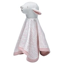 <strong>Under the Nile</strong> Hello Goodbye Print Sleep Sheep Toy