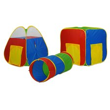 Multiplex Play Set with 24 Balls (Set of 3)