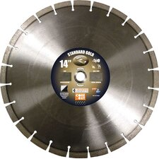 <strong>Diamond Products</strong> Standard Gold Asphalt/Concrete Blade