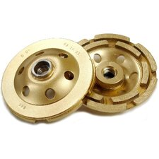 D5S Standard Gold Double Row Cup Grinder