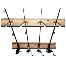 Del Sol Fishing Rod Storage Rack 4 Space Ceiling