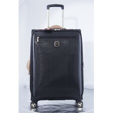 "Frosted 25"" Spinner Suitcase"