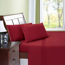 Scroll Microfiber Sheet Set