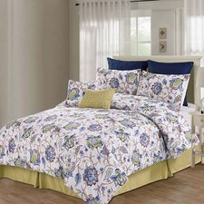 Printed Kensington 8 Piece Comforter Set