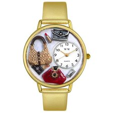 Unisex Purse Lover Watch in Gold