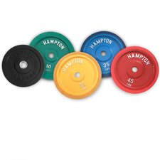 Rubber Bumper Plate Solid Rubber Precision Milled Cast Iron