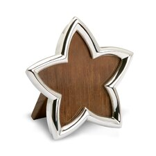 Sterling Silver Star Picture Frame