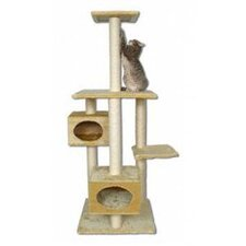 "<strong>Kitty Mansions</strong> 66"" Manhattan Cat Tree"