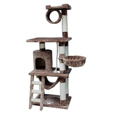 "<strong>Kitty Mansions</strong> 62"" Boston Cat Tree"
