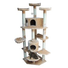 "<strong>Kitty Mansions</strong> 72"" Denver Cat Tree"