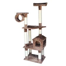 "<strong>Kitty Mansions</strong> 68"" Baltimore Cat Tree"